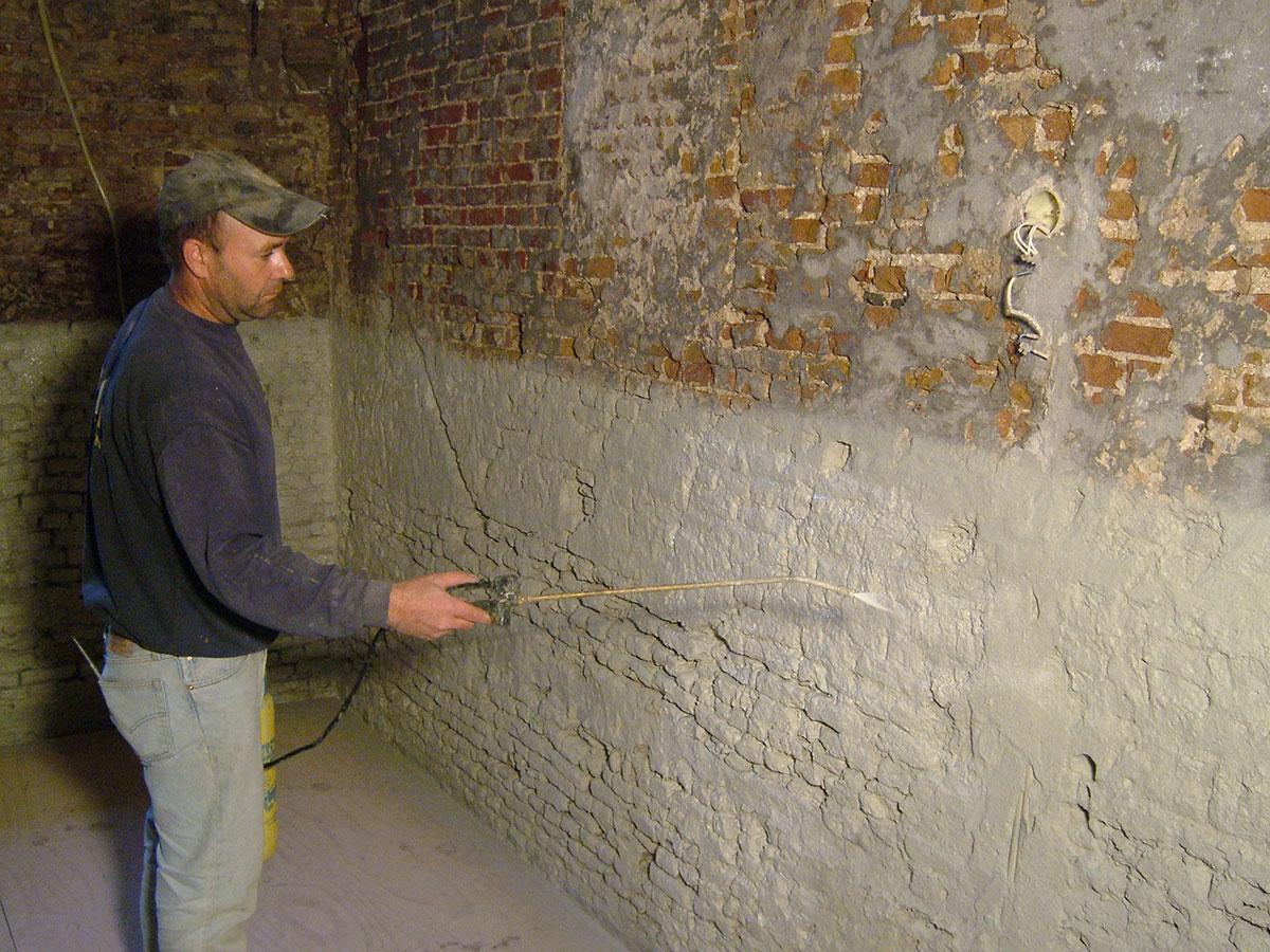 Zowel herstellende als preventieve aanpak van uw vochtschade - Waterdicht wax beton ...